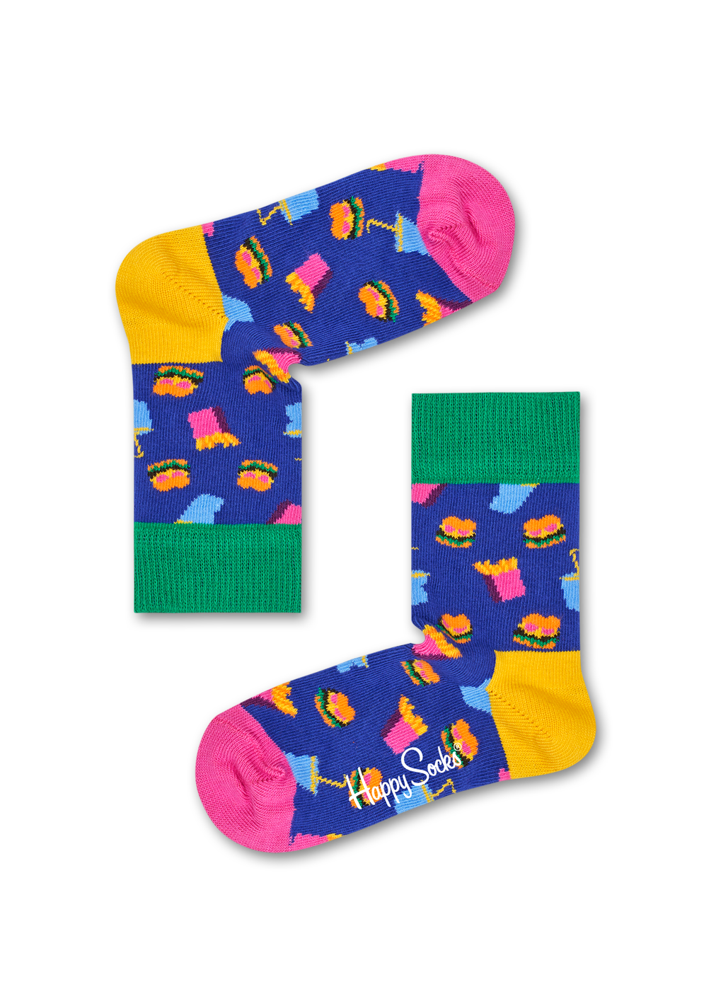 Happy Socks Hamburger kid's sock