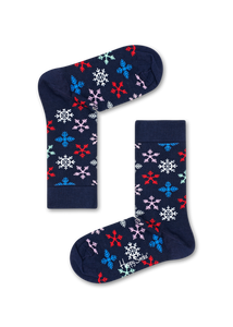Happy Socks Snowflake women's sock