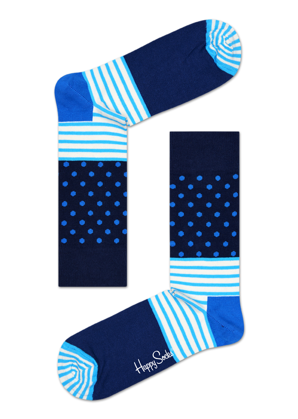 Happy Socks Stripes & Dots women's sock