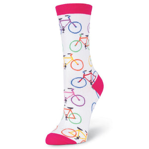 K. Bell Colorful Bikes women's crew