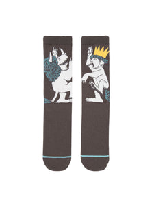 Out of Print Where The Wild Things Are women's and men's socks