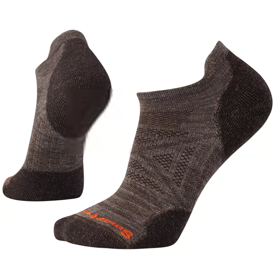 Smartwool Men's PhD Outdoor Light Micro Hiking Socks in Taupe