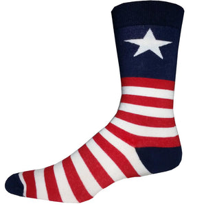 Sock Harbor Captain USA men's socks