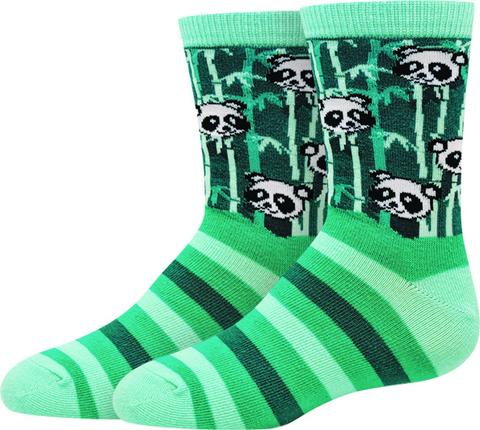 Sock Harbor Panda kid's socks