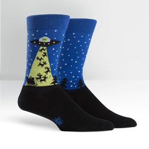 Sock It To Me The Alien Who Stole Christmas men's sock