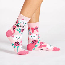 Sock It To Me You're Purrfect women's sock