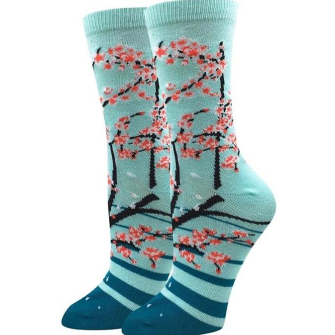 Sock Harbor Cherry Blossom