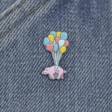 Sock It To Me When Pigs Fly enamel pin