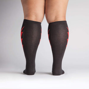 Sock It To Me Super Hero! extra-stretchy knee high