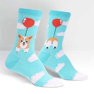 Sock It To Me Pup, Pup and Away women's and kid's socks