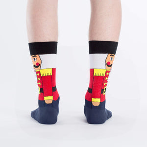 Sock It To Me Nutcracker women's sock