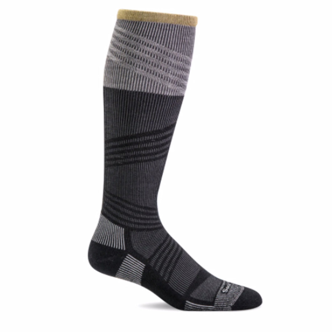 Sockwell Summit II Over the Calf firm graduated compression (20-30mmHg) men's sock