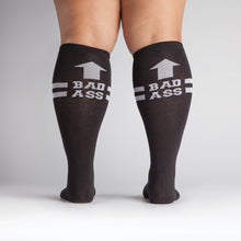 Sock It To Me Bad Ass extra-stretchy women's and men's socks