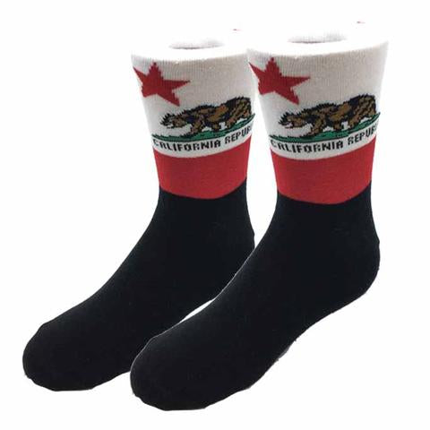 Sock Harbor California Bear