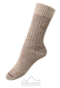 Classic Alpaca Heavy Boot women's and men's socks