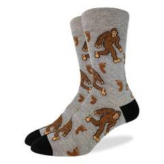 Good Luck Socks Bigfoot women's and men's sock