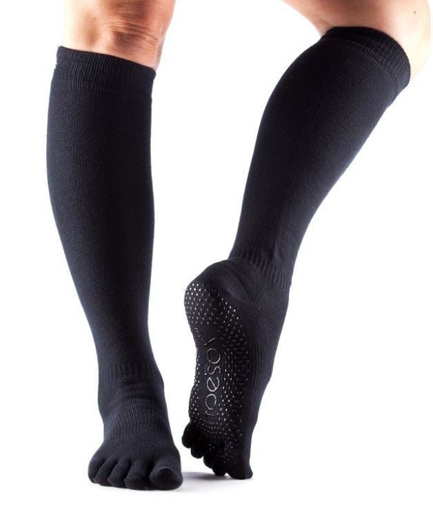 Toesox Scrunch Knee High Full Toe Grip