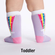 Sock It To Me Rainbow Blast women's, kid's, and extra-stretchy socks