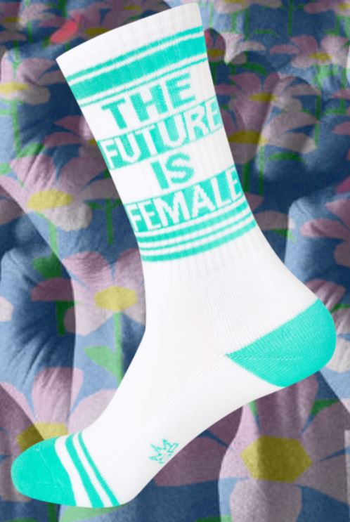 Gumball Poodle Future is Female women's and men's sock
