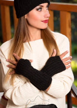 Classic Alpaca Madisson Fingerless Gloves long