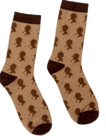 Out of Print Sherlock Holmes women's and men's socks