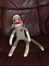 Sock Monkey toy
