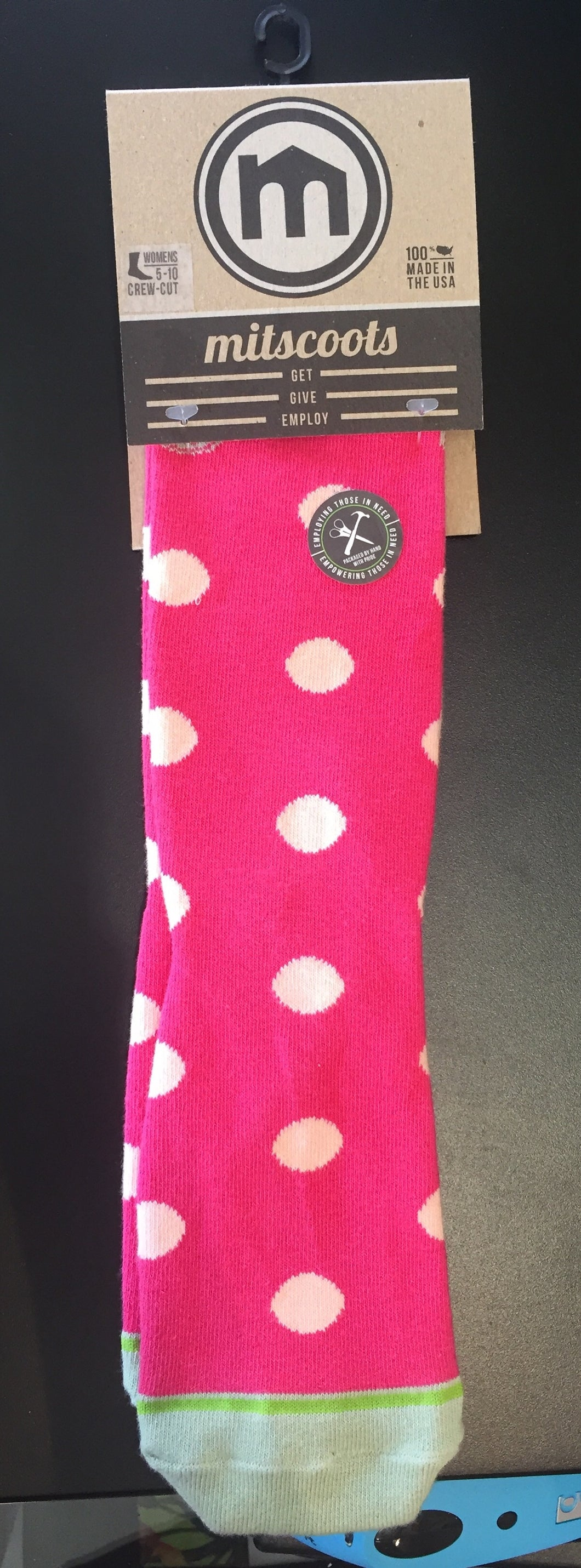 Mitscoots Polka Dot women's