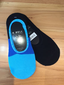 K. Bell men's no-show two-pair