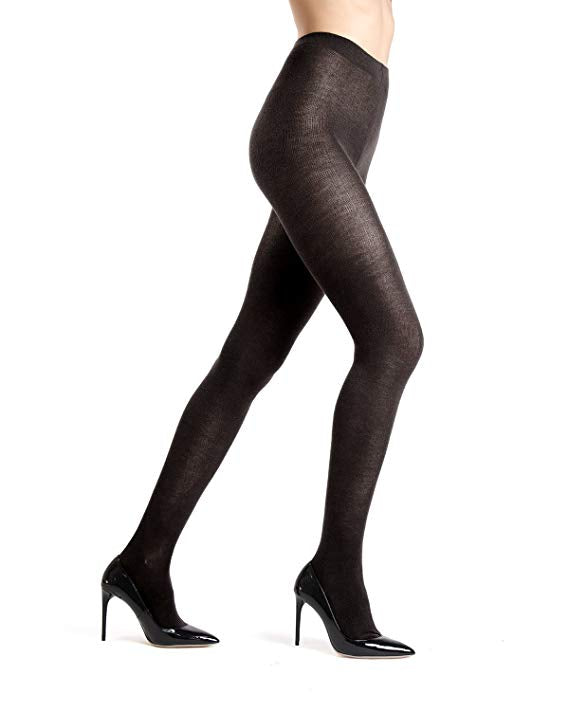 Me Moi Merino Wool Solid Knit tights