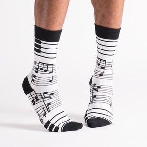 Sock it to Me Footnotes women's and men's sock