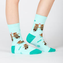 Sock It To Me My Otter Half women's and kid's socks