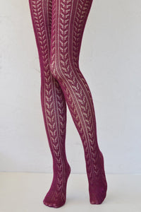 Tabbisocks Crochet tights TT6590