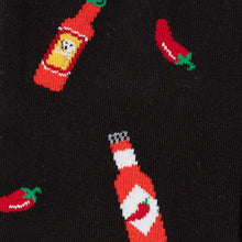 Sock It To Me Hot Sauce men's and extra-stretchy socks
