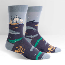 Sock It To Me Sea Voyage women's and men's sock