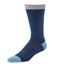 Little River Sock Mill Textured Herringbone Crew - Style 200