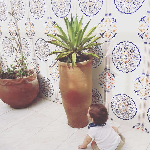 baby travel morocco