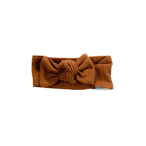 Adjustable buckle headband-Rust