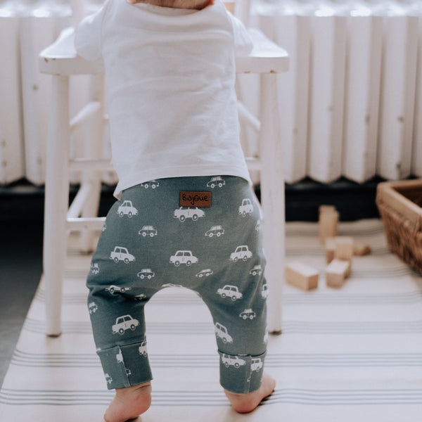 """Grow with me"" pants for babies and children-Cars"