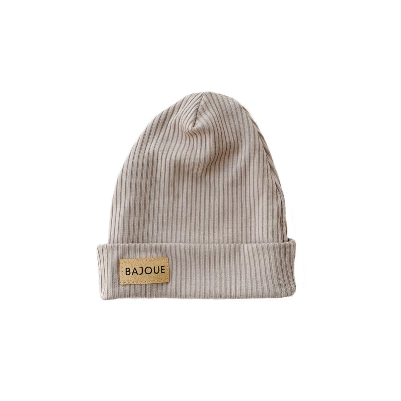 Bamboo beanie for babies and children-Moka
