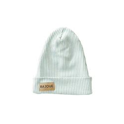 Bamboo beanie for babies and children-Pistachio