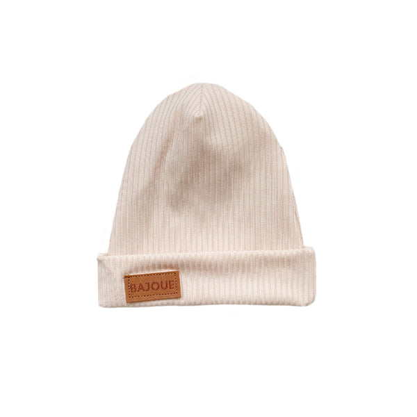 Bamboo beanie for babies and children-Blush