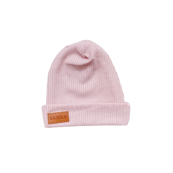 Bamboo beanie for babies and children-Lilac