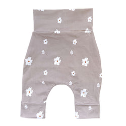 """Grow with me"" pants for babies and children-Floral"