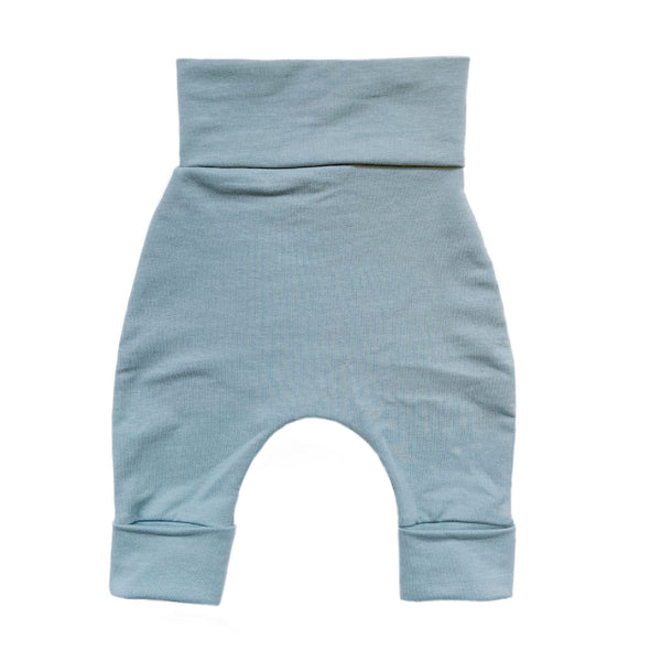 """Grow with me"" pants for babies and children-Ocean"