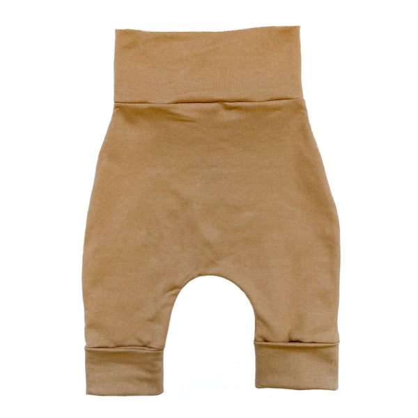 """Grow with me"" pants for babies and children-Espresso"