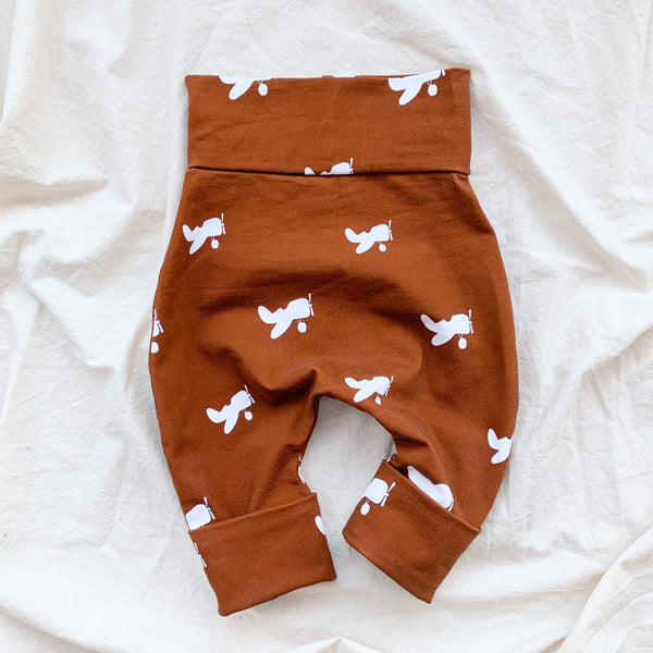 """Grow with me"" pants for babies and children-Aviator"