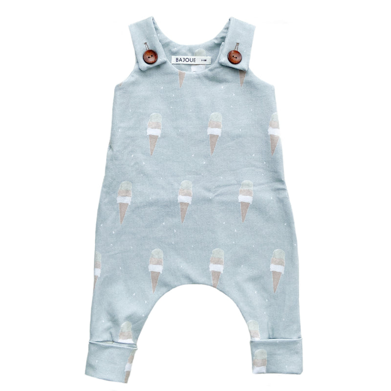 Romper for babies and children-Ice cream