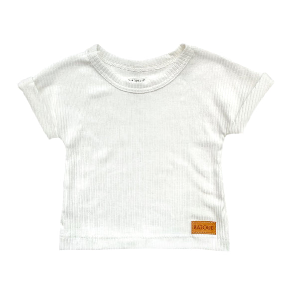 Unisex bamboo t-shirt-Cream