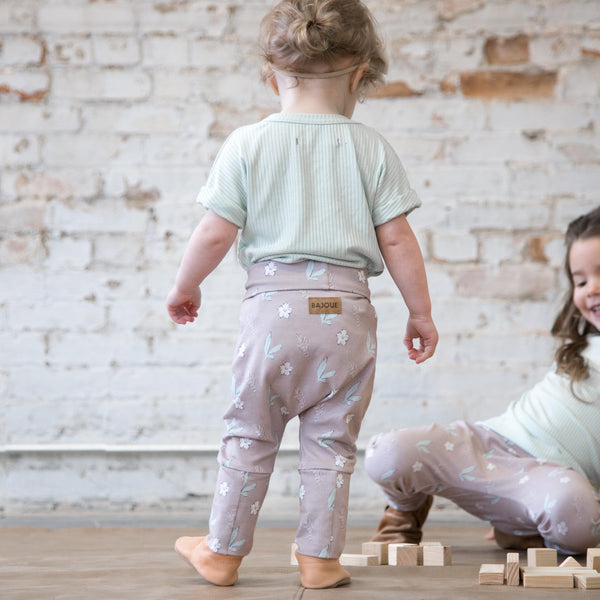 """Grow with me"" pants for babies and children-Daisy"