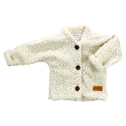 Jacket for babies and children-Ivory